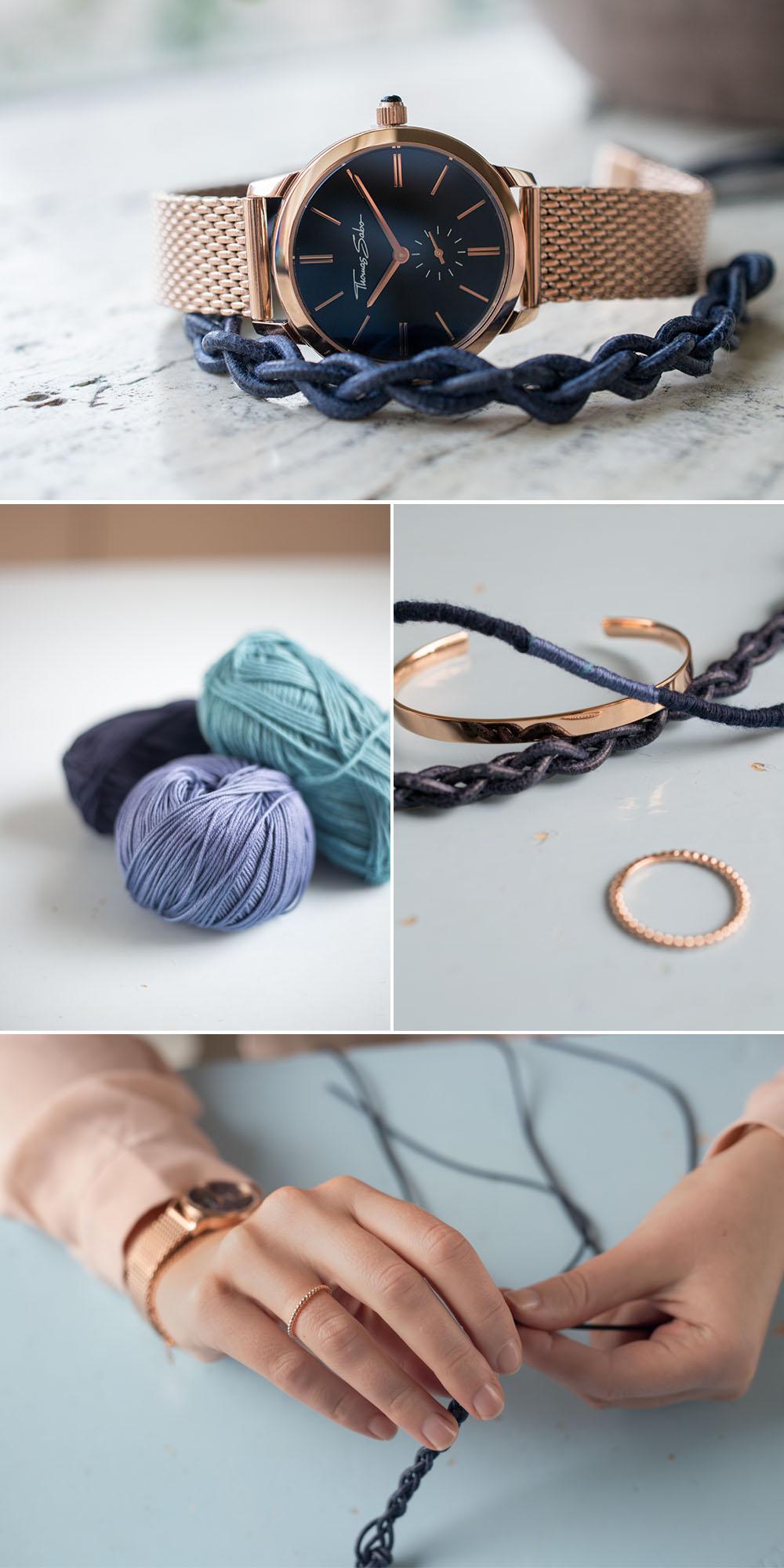 Anleitung für 3 DIY Armbänder