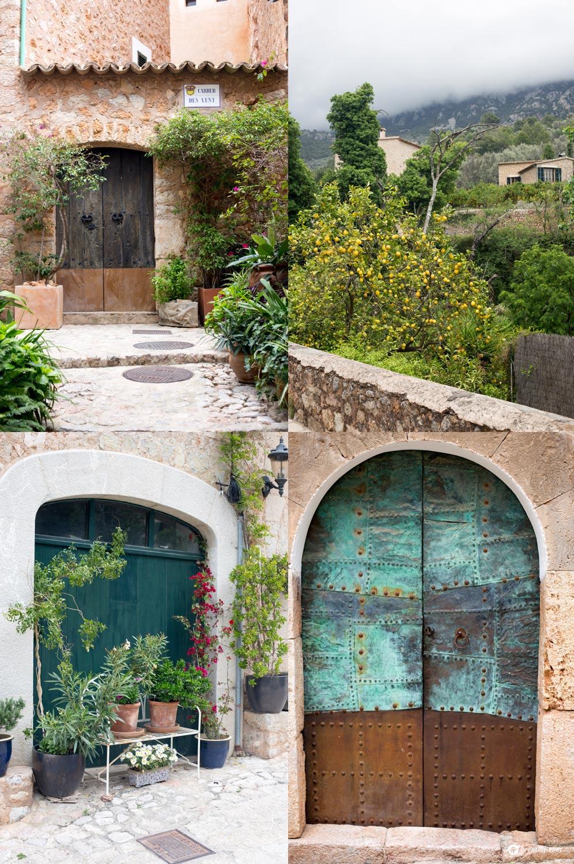 7 Tipps für Fornalutx auf Mallorca - schöne Türen