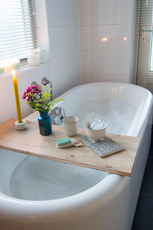 diy Tisch für Badewanne