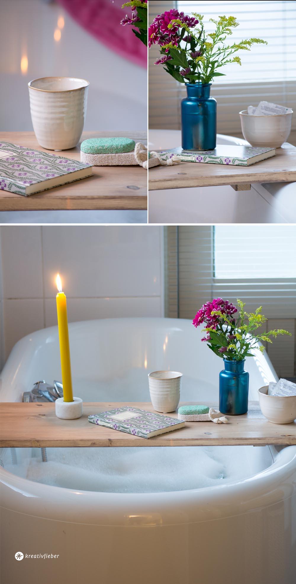 Diy Badewannentisch Selbermachen Anleitung Ganz Einfach Badezimmer
