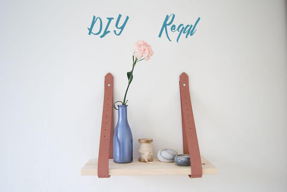 DIY Regal zum aufhängen Selbermachen