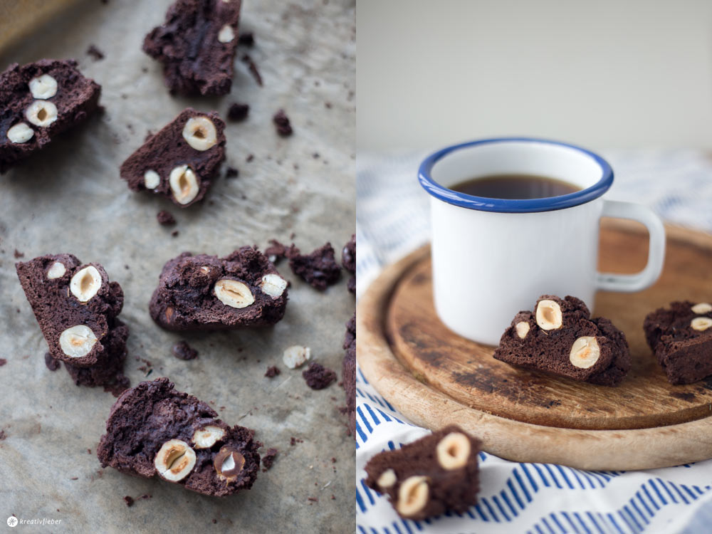 Schokoladen Cantuccini selbermachen - kleines Mitbringsel aus der Küche
