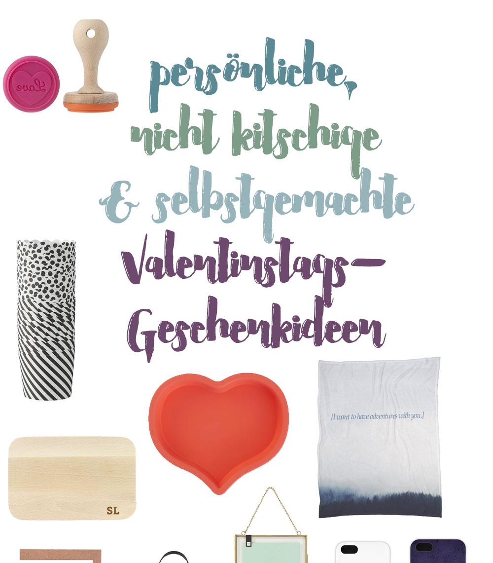 Persönliche, Nicht Kitschige Und Selbstgemachte Valentinstags Geschenkideen