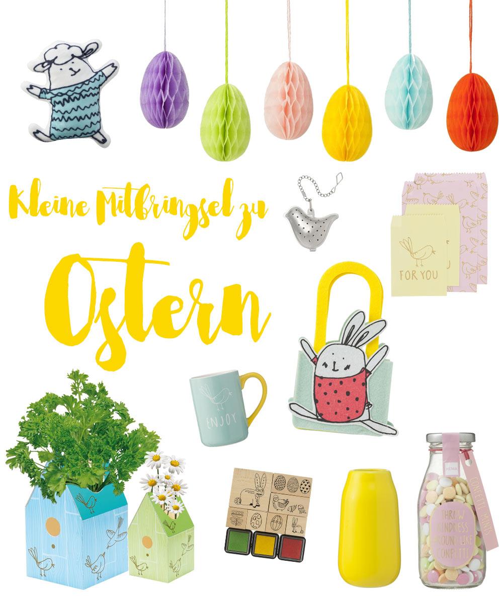Kleine Mitbringsel zu Ostern - süße Geschenkideen für Ostern unter 5 Euro