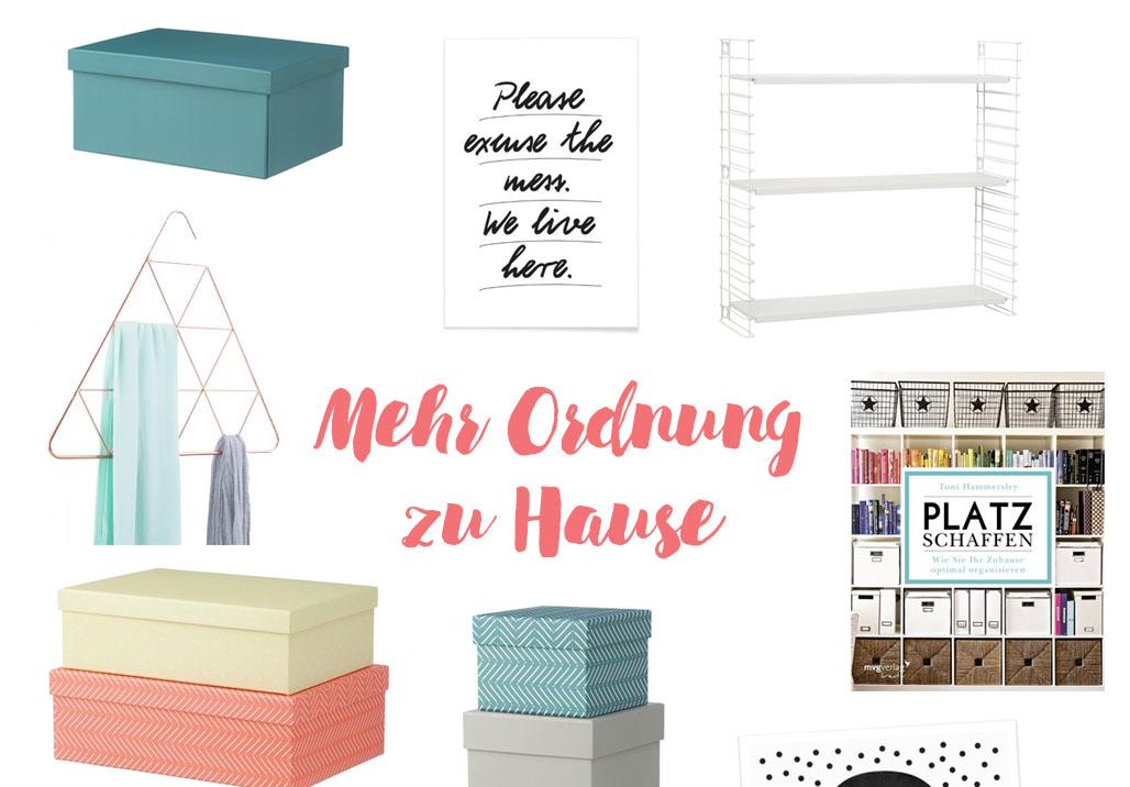 mehr ordnung zu hause schaffen. Black Bedroom Furniture Sets. Home Design Ideas