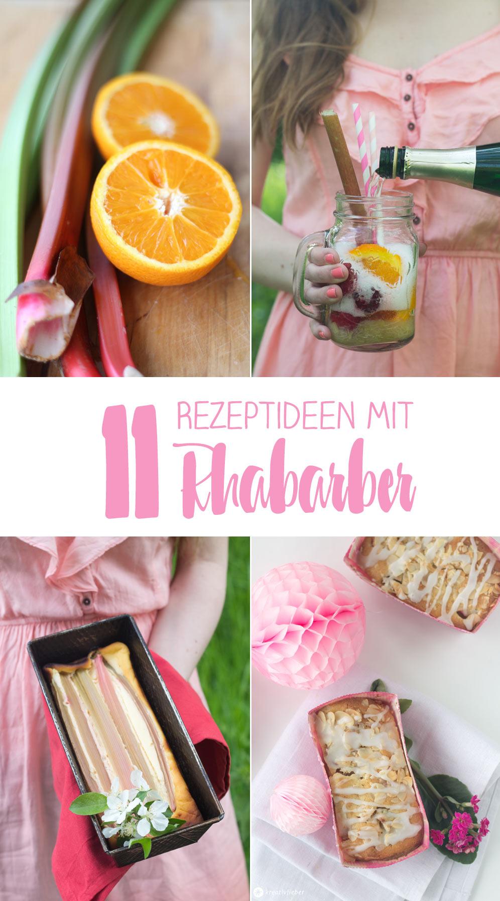 11 Rezeptideen mit Rharbarber - Bowle, Küchlein, Marmelade und Co. - kreativfieber.de