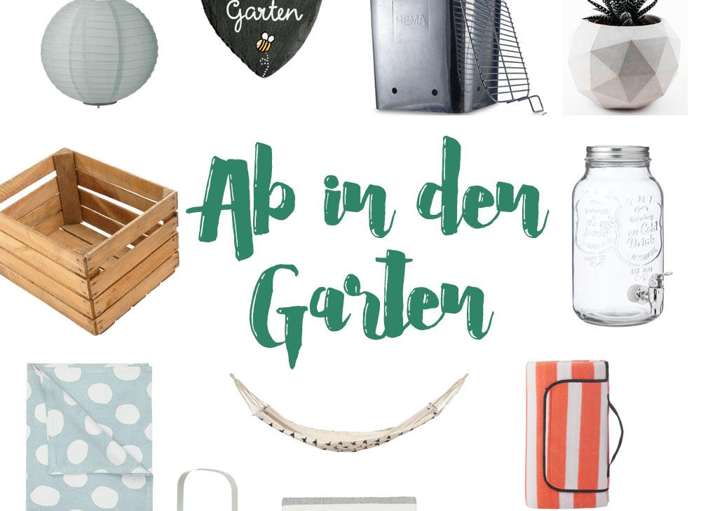 Gartensaison must-haves geschenkideen