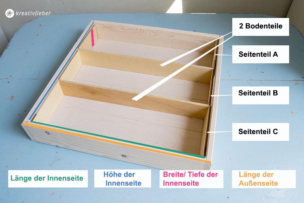 DIY Gewürzregal bauen aus einem Tablett Upcycling Projekt