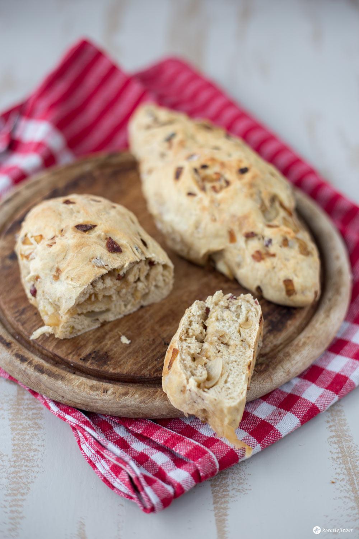 Zwiebel-Schinken-Brot selbermachen - Snack fürs Picknick oder Grillen