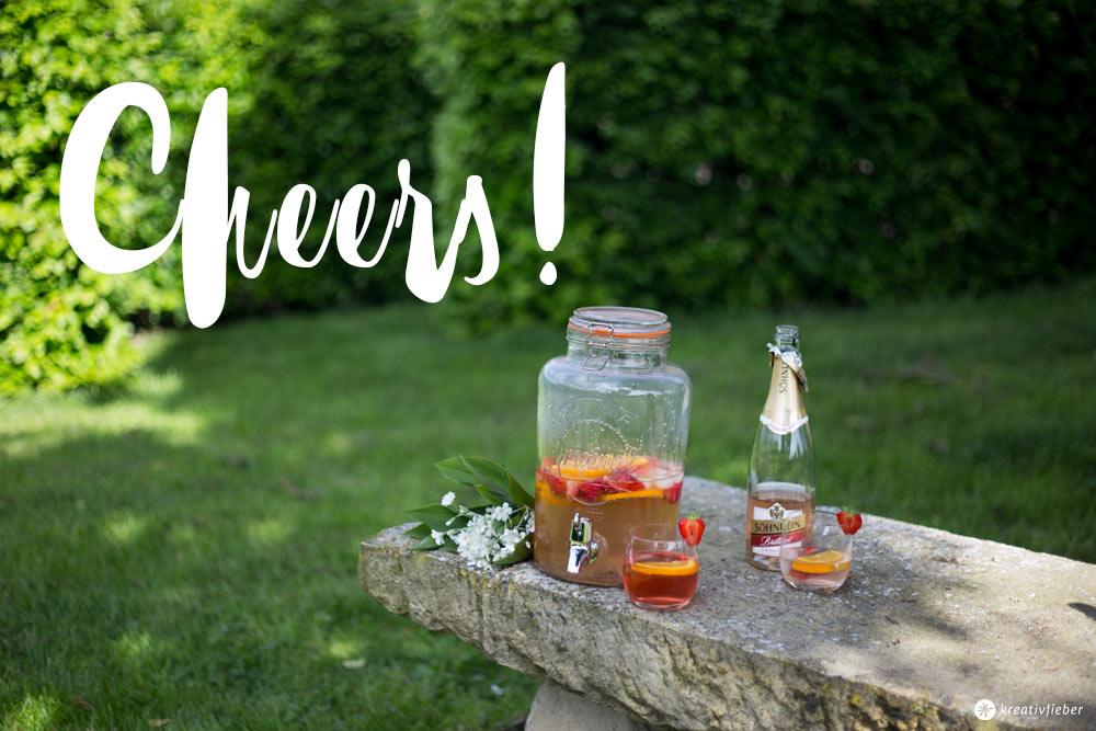 Rezepte mit alkoholfreiem Sekt - Sommerdrinks für Schwangere