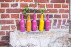Flaschen Upcycling Mit Tafellack