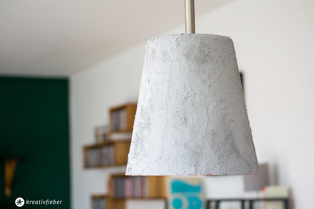 Betonlampe ohne Gießen ganz einfach Selbermachen