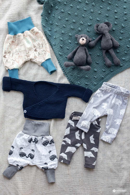 DIY Babykleidung selbernähen und stricken - Schnittmuster Quellen und Stoffe