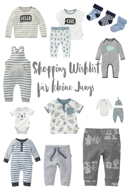 Shopping Wishlist für kleine Jungs - schöne Kleidung für Babyjungs kaufen