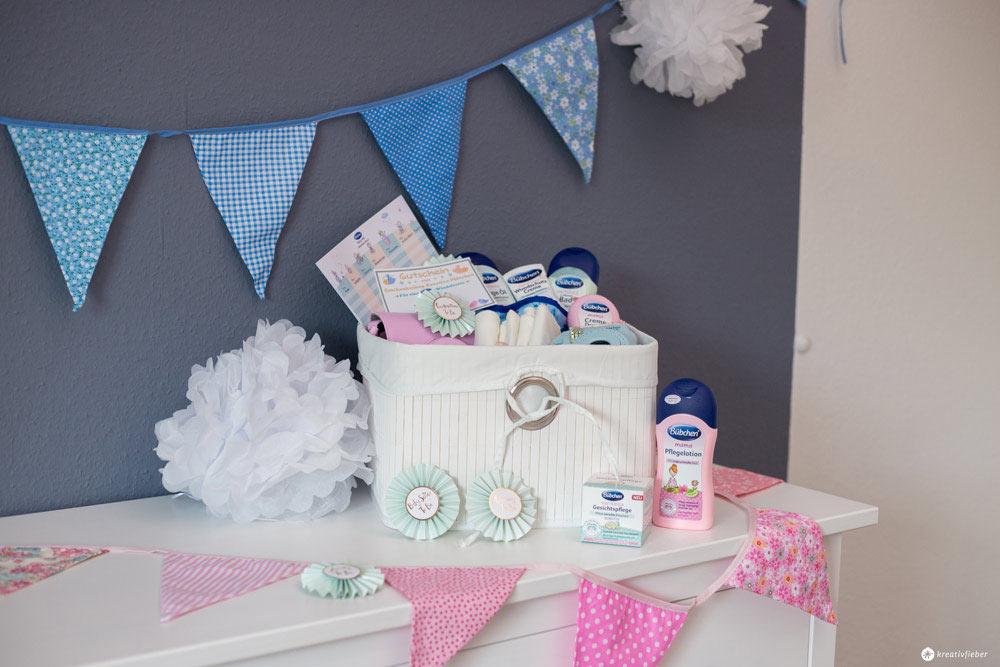 5 Tipps für eure DIY Babyparty - Gewinnt einen Korb mit allen Produkten die ihr für eure DIY Baby Showerbraucht