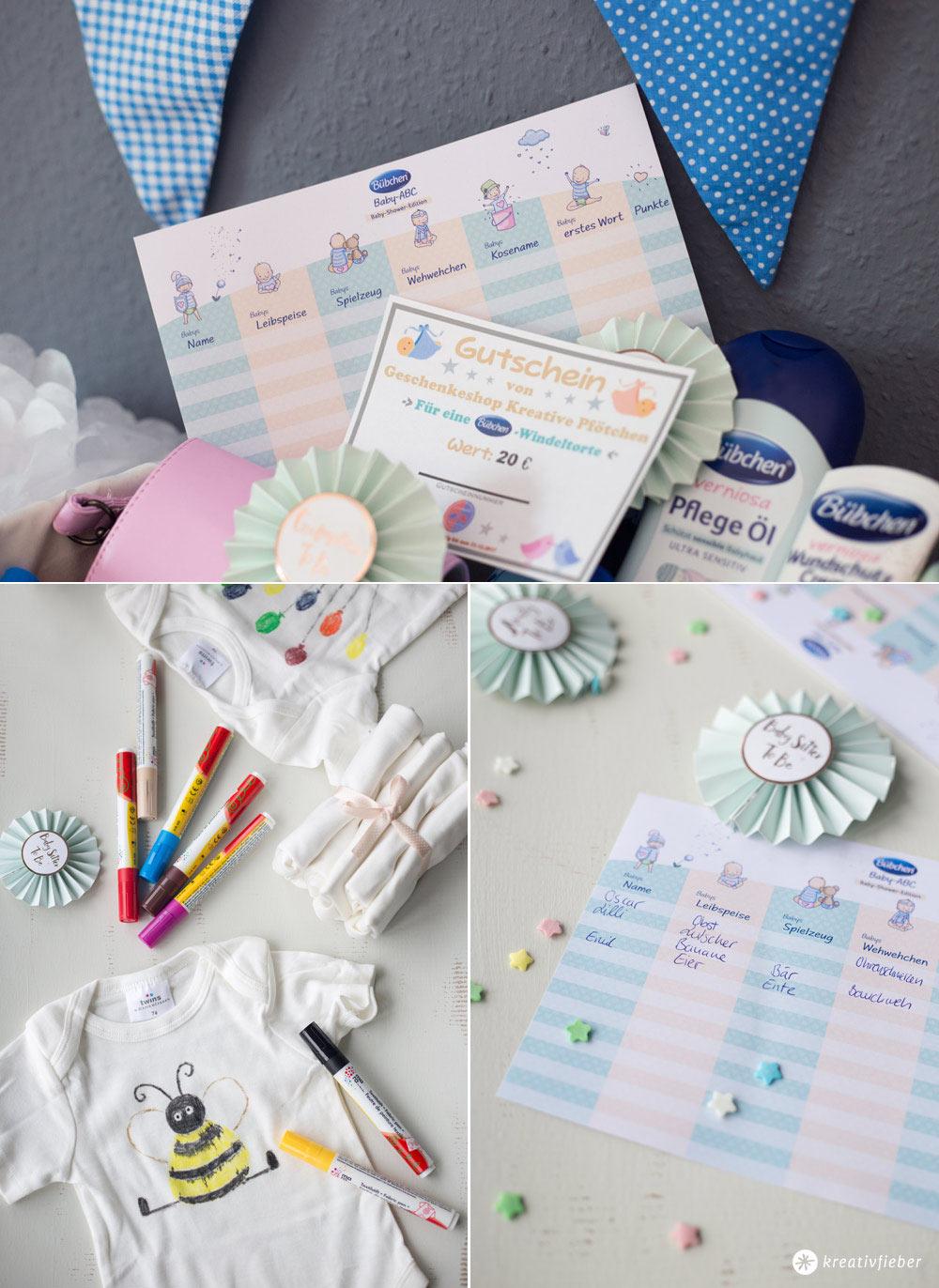 5 Tipps für eure DIY Babyparty - Ideen für DIY Spiele und Aktionen für eure DIY Baby Shower