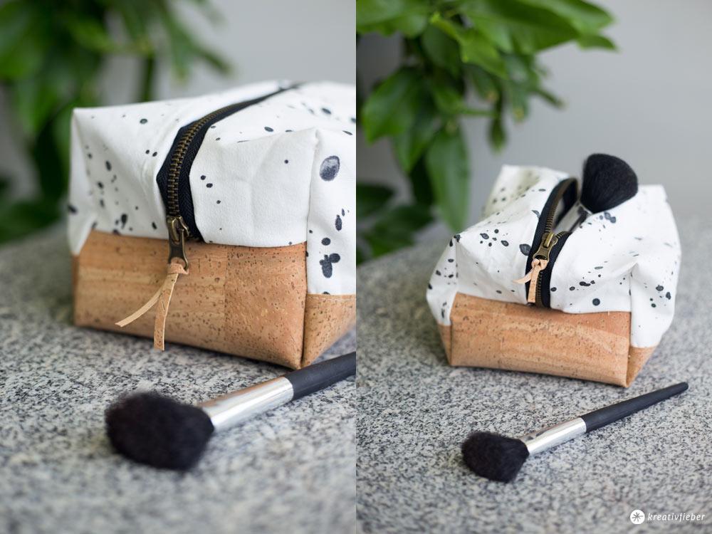 DIY eckige Kosmetiktasche selbernähen | kreativfieber | Bloglovin\'