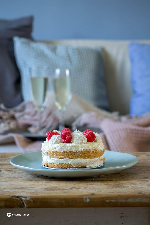 Rezept für 2 Raffaello Törtchen kleine Torte