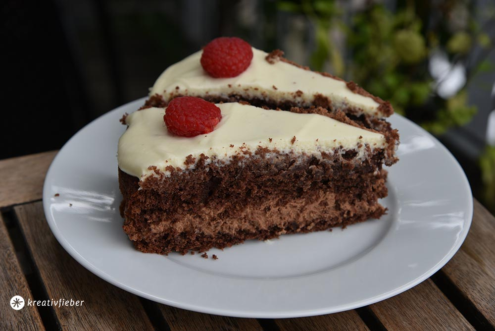 Geburtstagstorte Schokoladenmousse Torte