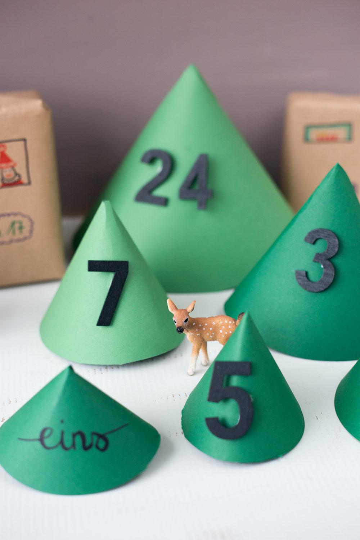 DIY Adventskalender für Kinder selberbasteln