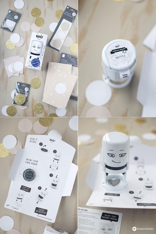 DIY Geschenke aus der Küche - individuelle Stempel für Geschenke mit NIO