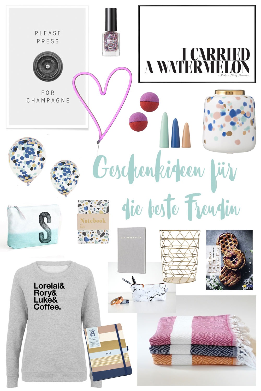 Geschenkideen für die beste Freundin - Inspiration für Weihnachtsgeschenke