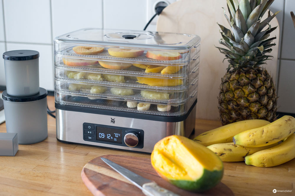 Tropical Granola mit Dörrobst - gewinnt einen WMF Küchenmini Dörrautomat