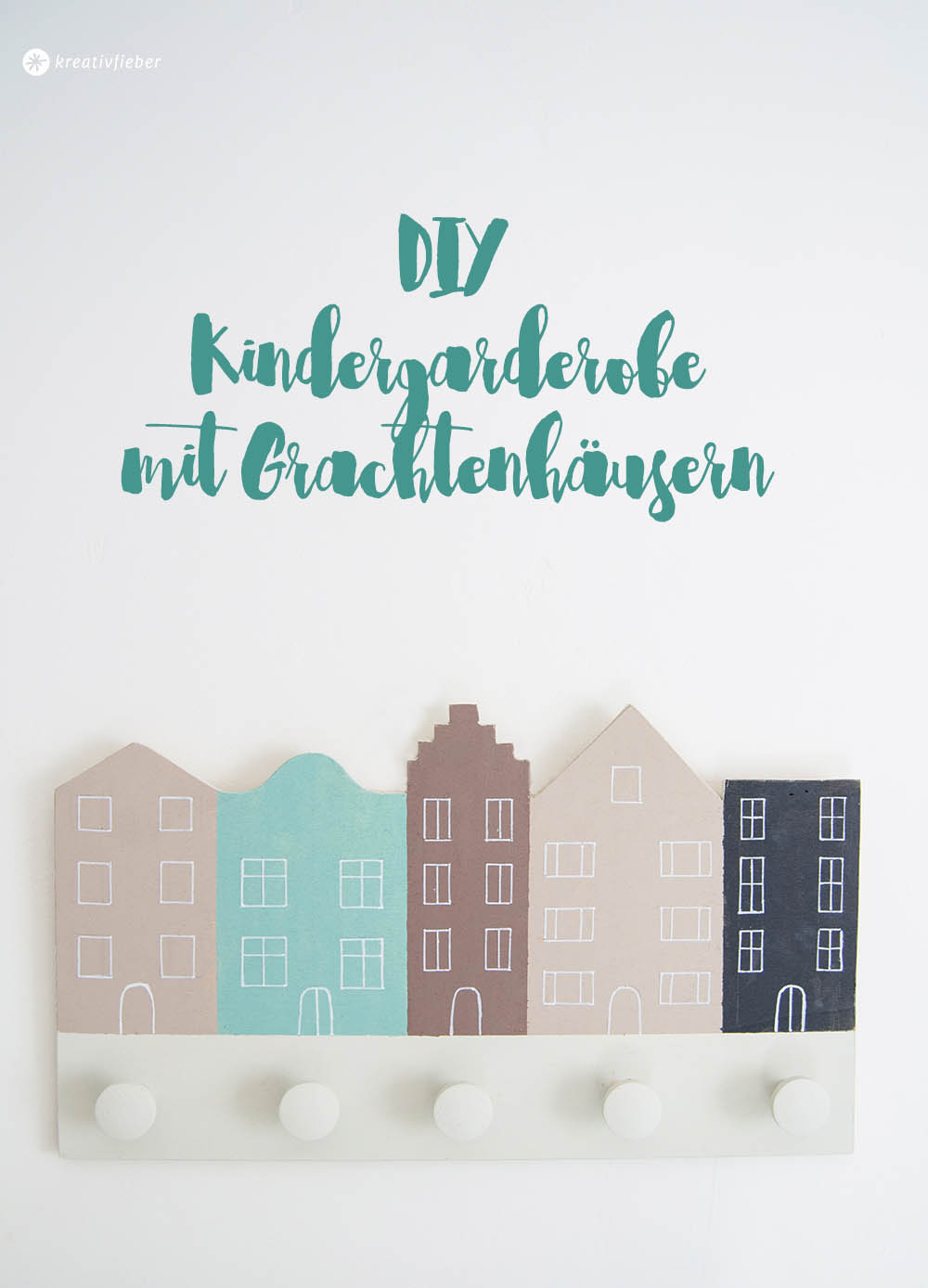 DIY Garderobe für Kinder
