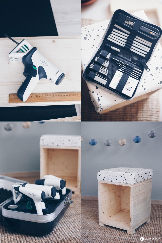DIY Hocker fürs Kinderzimmer zum Spielen selberbauen mit Twercs