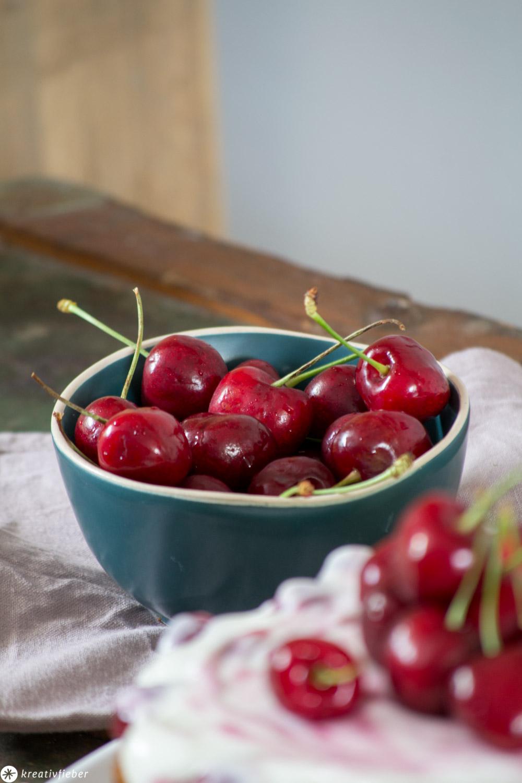 Kirschen Sommerrezept