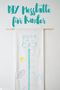 DIY Messlatte Für Kinder