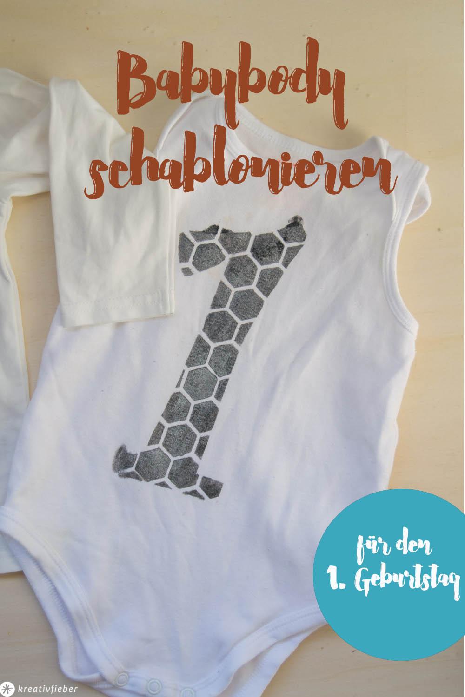 Schablonieren auf Textilien