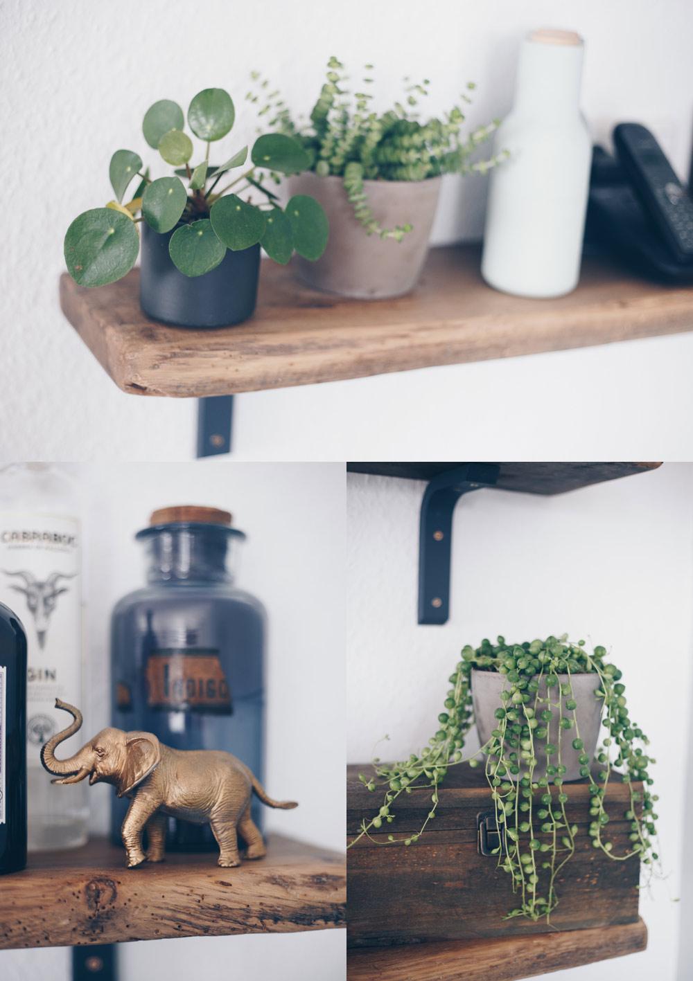 DIY Regal aus alten Holzdielen - altes Holz bearbeiten - Möbel selberbauen - Interior DIY -Kreativfieber