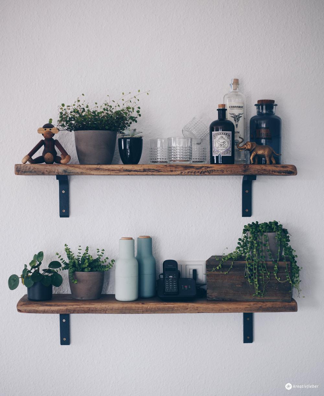 DIY Regal aus alten Holzdielen - altes Holz bearbeiten - Möbel selberbauen - Interior DIY