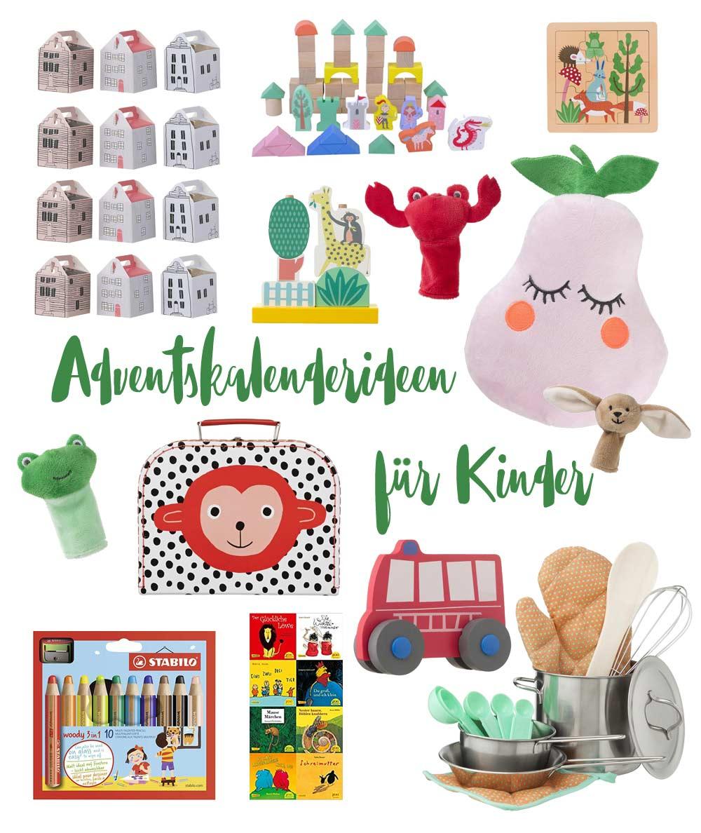 Adventskalenderideen für Kleinkinder - kleine Geschenke für den Adventskalender für Kinder unter 3 Jahre