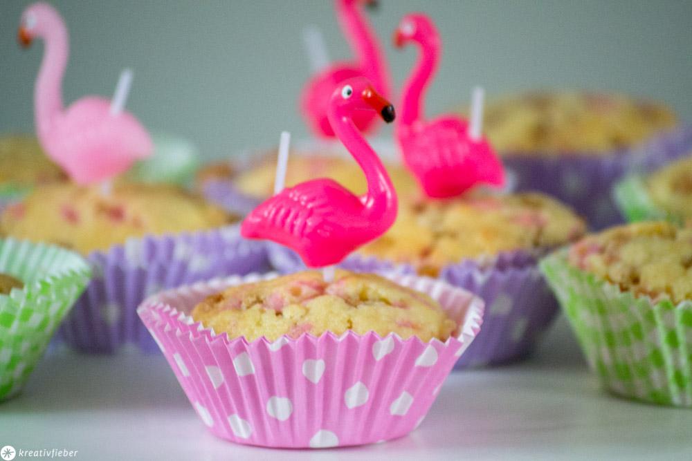 Bunte Streusel-Muffins