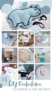 14 schöne DIY Geschenke für Eltern und Babys - DIY Geschenkideen zur Geburt oder für Kinder unter eins zu Weihnachten