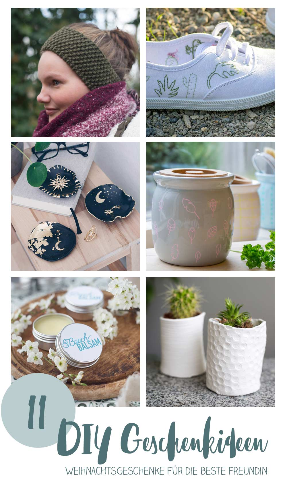 Die 11 schönsten DIY Geschenke für die beste Freundin zu Weihnachten