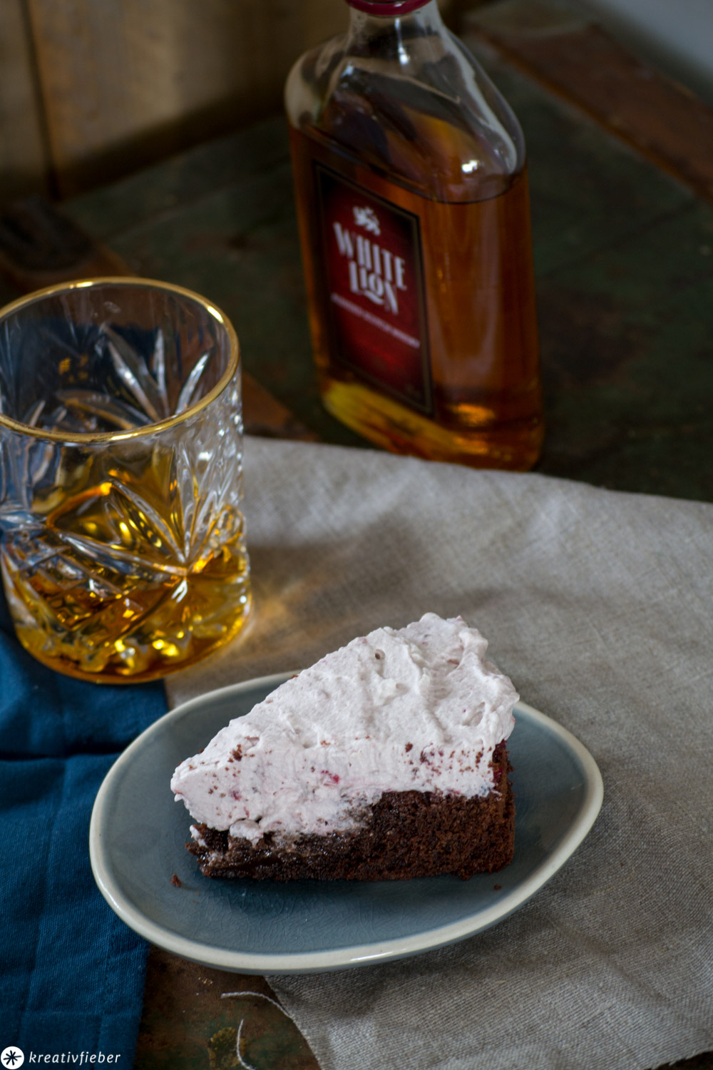 Whisky Torte backen