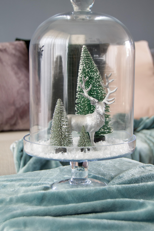 Winterdeko Glashaube