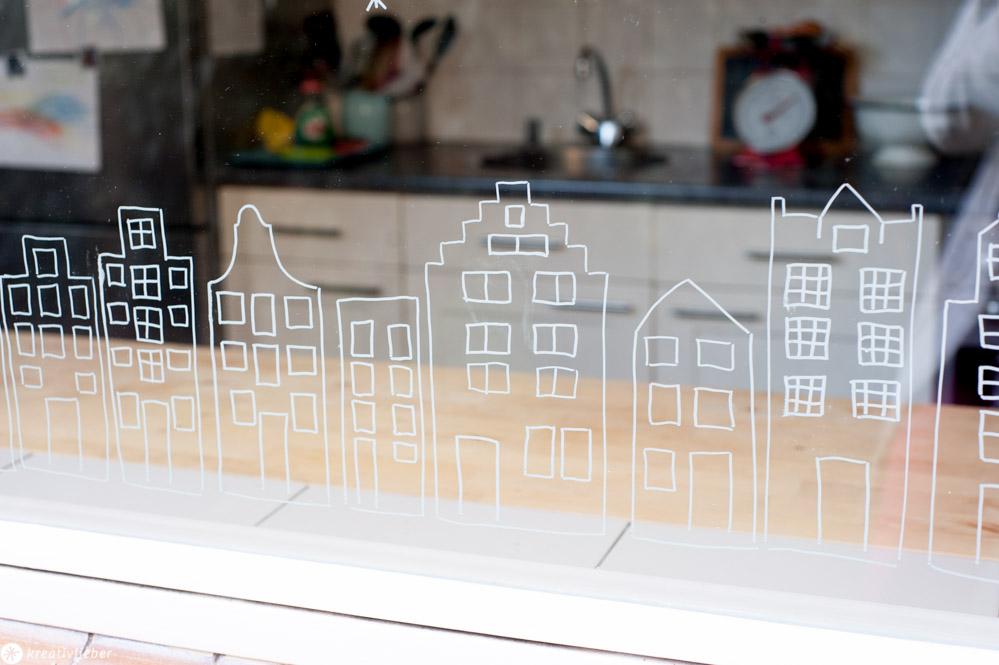 Chalkmarker Fensterbilder Tutorial