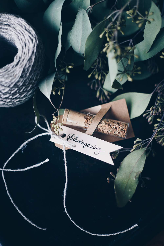 Glühweingewürz Geschenkanhänger verschenken - DIY Geschenke aus der Küche