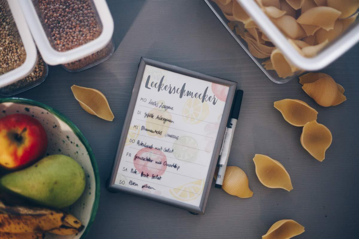 3 Gründe für einen Essensplan und Tipps zur Umsetzung