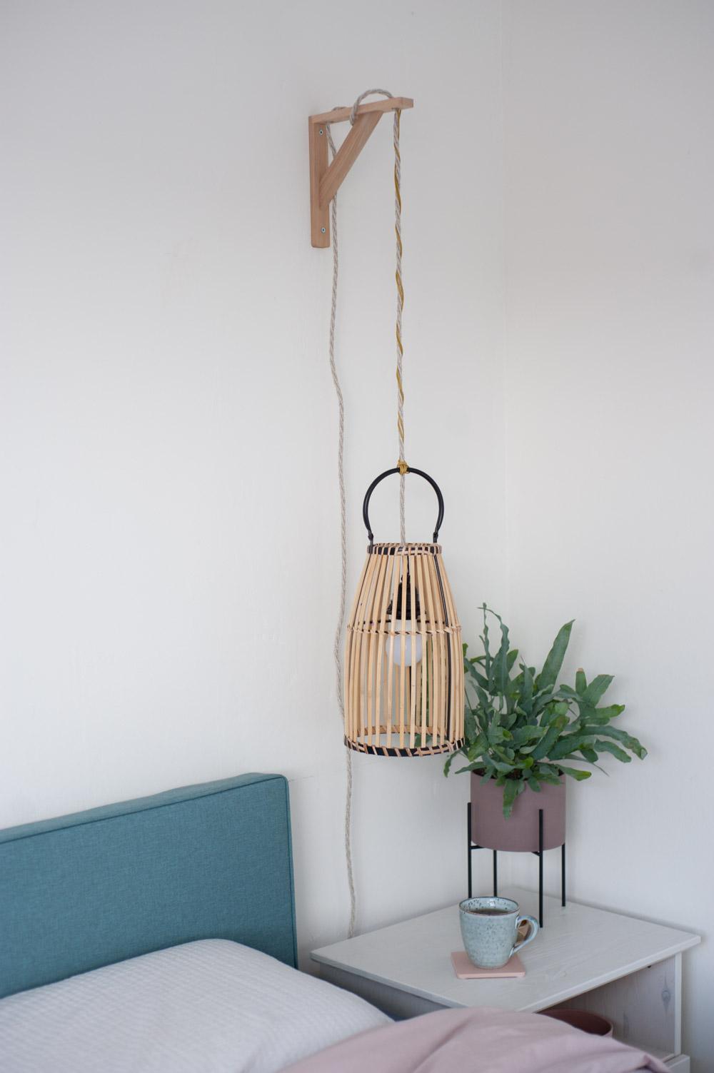 Upcycling Hängeleuchte aus Laterne bauen