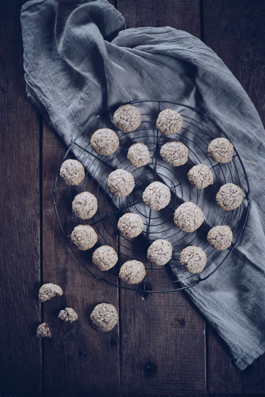 Ingwer-Haferkekse backen - einfaches Plätzchenrezept selbermachen - Ingwerkekse backen