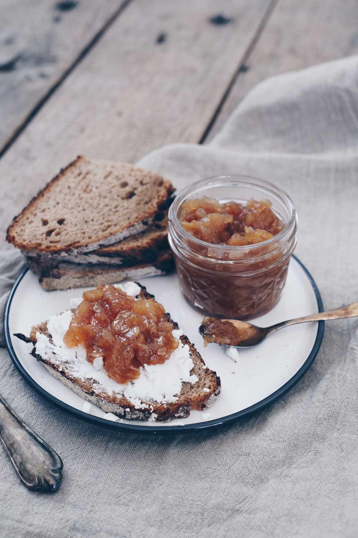 Birnen Chutney mit Ingwer selbermachen