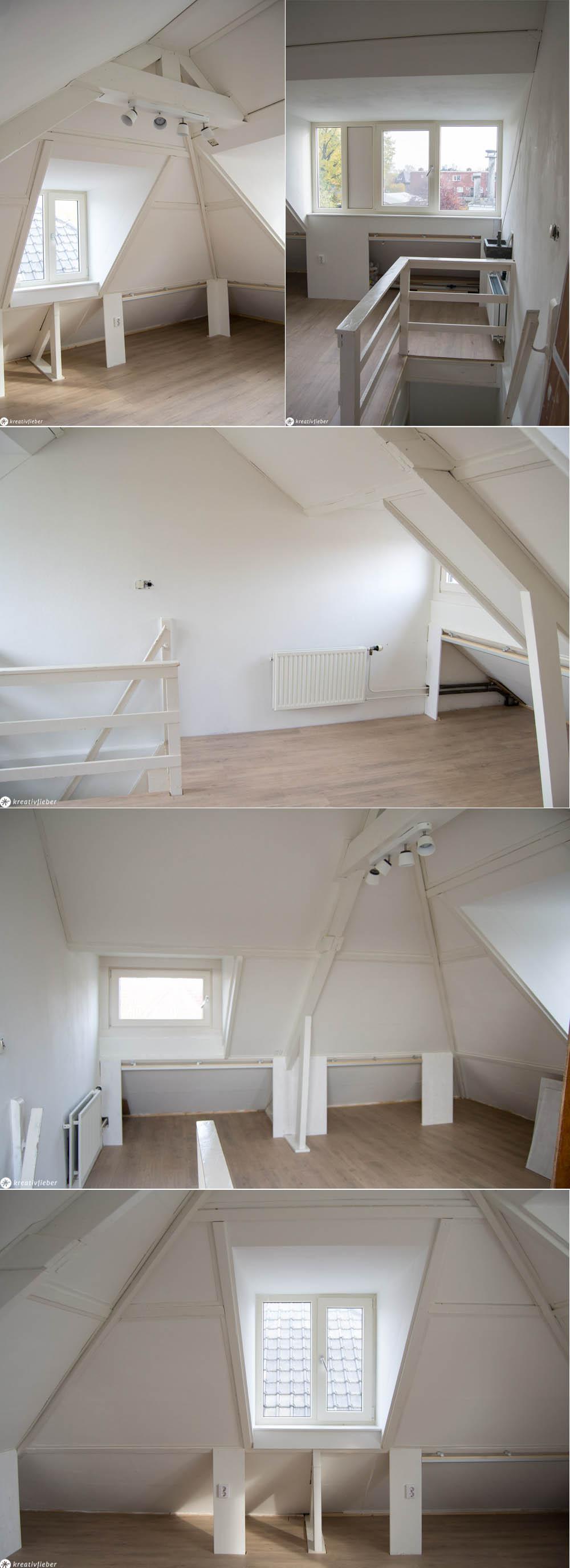 Dachboden Ausbau Dachgauben Homeoffice