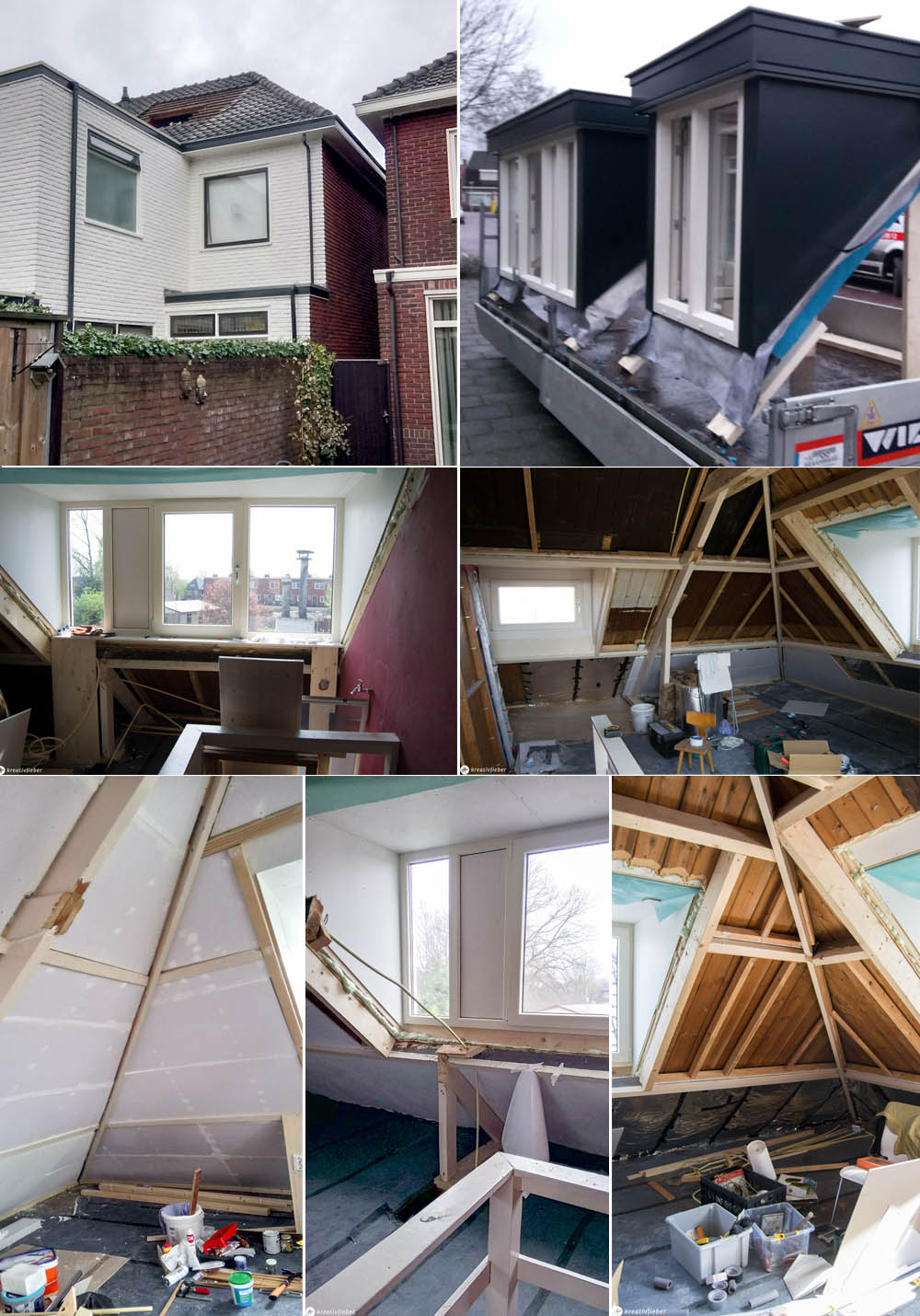 Dachgauben fertig einbauen