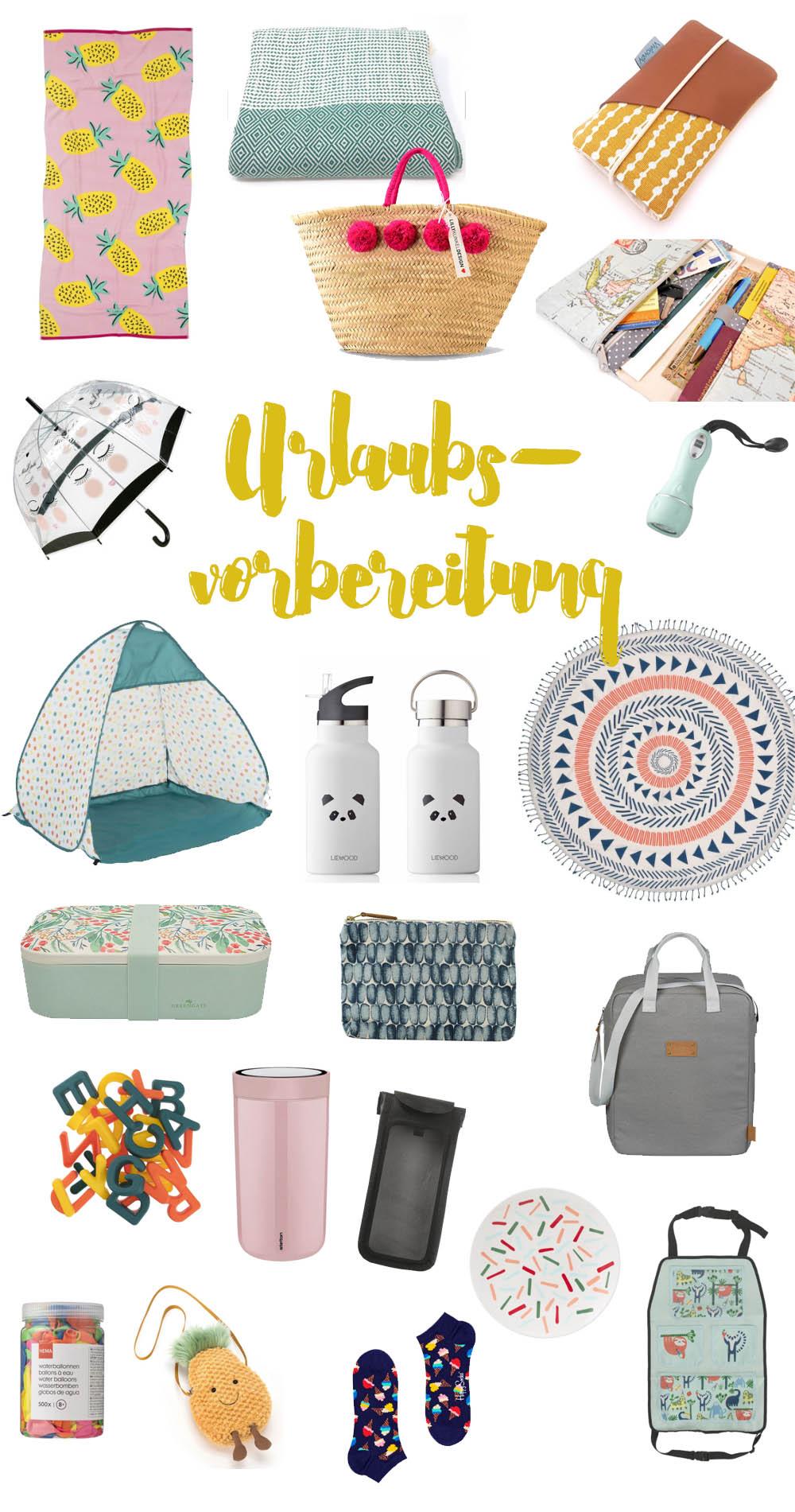 Shoppingguide für den Urlaub und die Reisevorbereitung