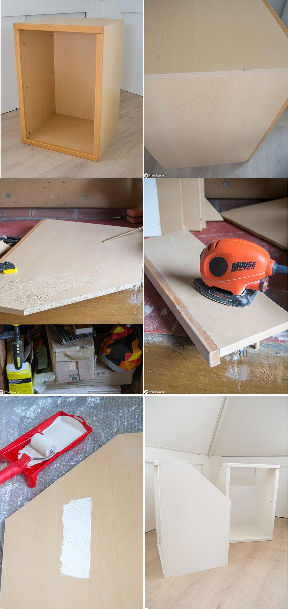 Diy Ganz Einfach Schränke Für Dachschrägen Bauen